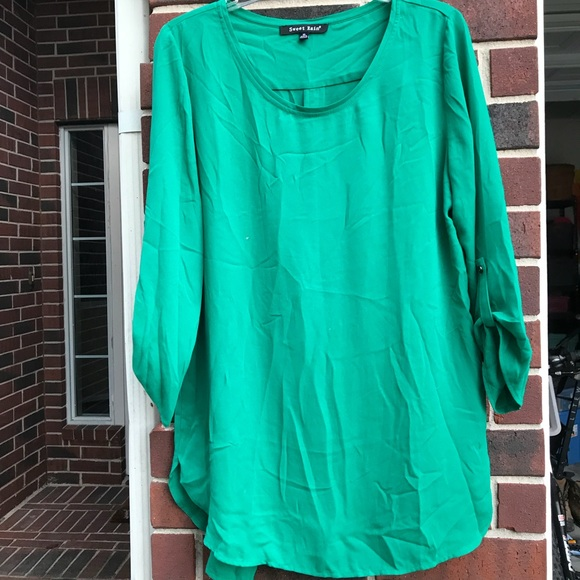 e015b023c47 Tops | Kelly Green Tunic Great Condition | Poshmark